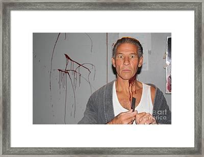 The Haunted House's Barber Framed Print by John Telfer