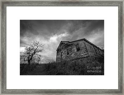 The Haunted Framed Print by Michael Ver Sprill