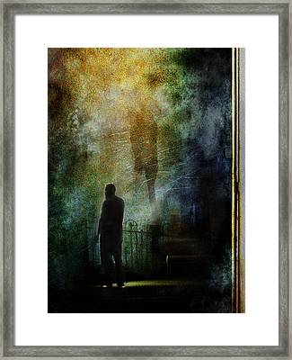The Haunting Chill Framed Print
