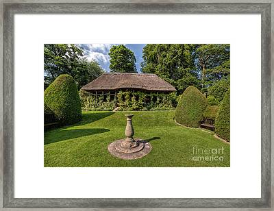 Thatched Cottage Framed Print by Adrian Evans