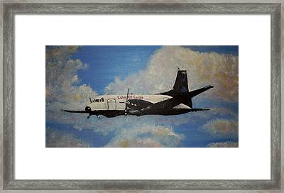 The Hawker Framed Print