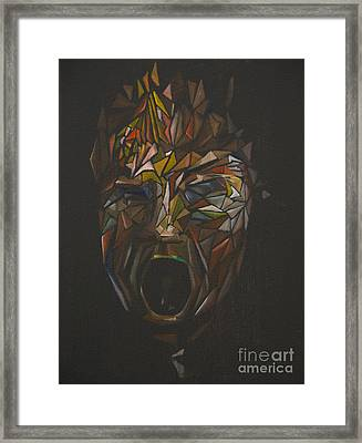 The Head Of Goliath - After Caravaggio Framed Print