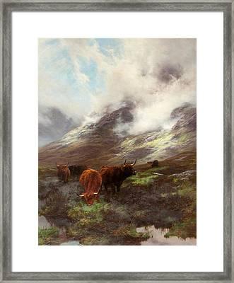 The Head Of The Glen, 1894 Framed Print