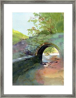 The Headgate Framed Print