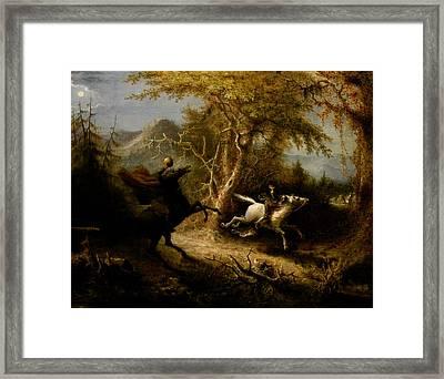The Headless Horseman Framed Print