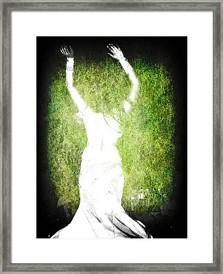 The Headless Woman Framed Print by Peter Waters