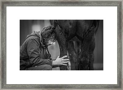 The Healer Framed Print