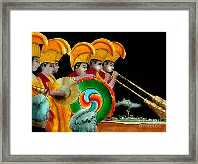 The Healing Ceremony Framed Print by Albert Puskaric