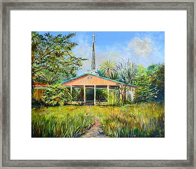 The Healing Chapel Framed Print