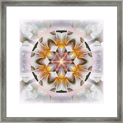 The Heart Knows Framed Print