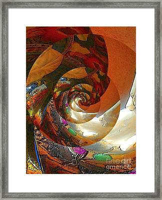 The Heart Of Christ Framed Print