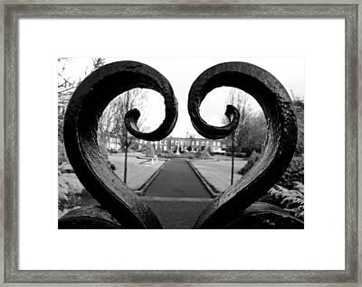 The Heart Of Dublin Framed Print