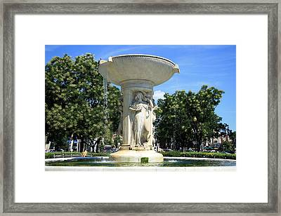 The Heart Of Dupont Circle Framed Print