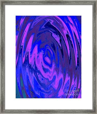 The Heart Of It Framed Print by Catherine Lott