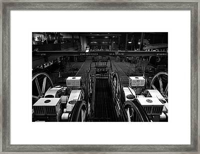 The Heart Of San Francisco Cable-car Framed Print by RicardMN Photography