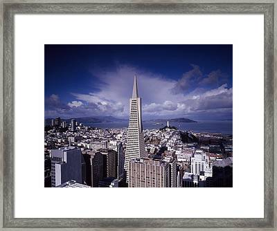The Heart Of San Francisco Framed Print