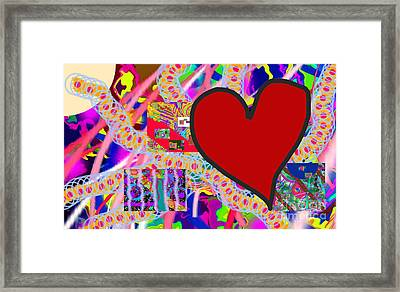 The Heart Of The Matter - Art Framed Print