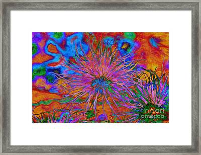 The Heart Of The Matter.. Framed Print by Jolanta Anna Karolska