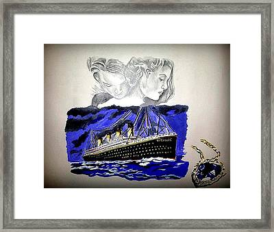 The Heart Of The Sea Framed Print