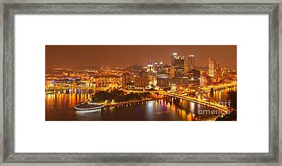 The Heart Of The Three Rivers Framed Print by Adam Jewell