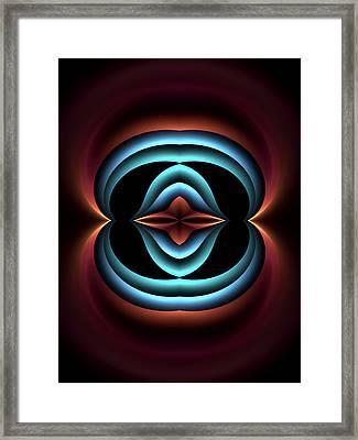 The-heart-panel-left-or-rightbb Framed Print by Bill Campitelle
