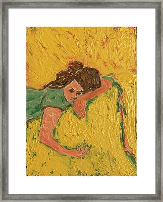 The Heartache Framed Print