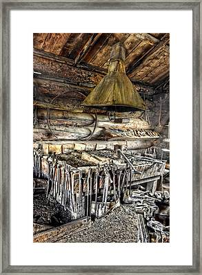 The Hearth Framed Print by Ken Smith