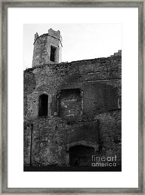 The Hearths Of Titchfield Abbey Framed Print by Terri Waters
