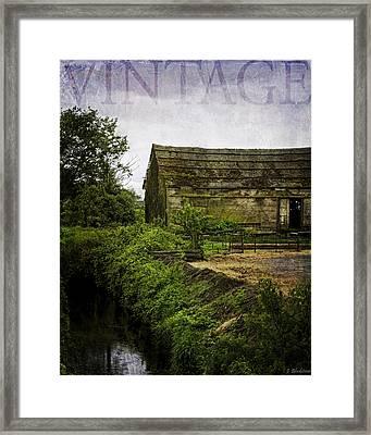 The Heartland - Vintage Art By Jordan Blackstone Framed Print