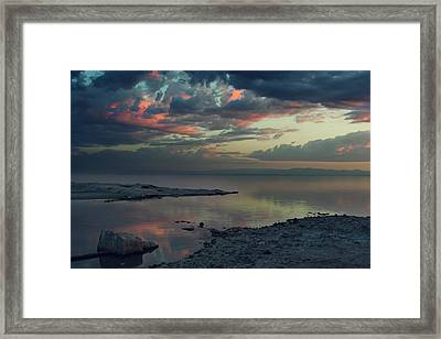 The Heat Of The Night Framed Print by Laurie Search