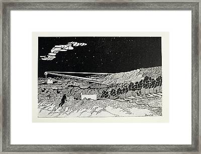 The Heat-ray Framed Print