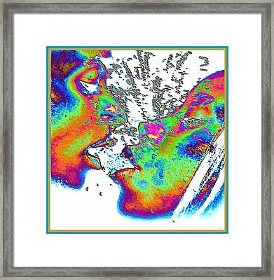 The Heat Framed Print by Theo Bethel