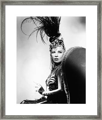 The Heats On, Mae West, 1943 Framed Print by Everett