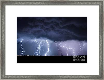 The Heavens And The Earth Framed Print