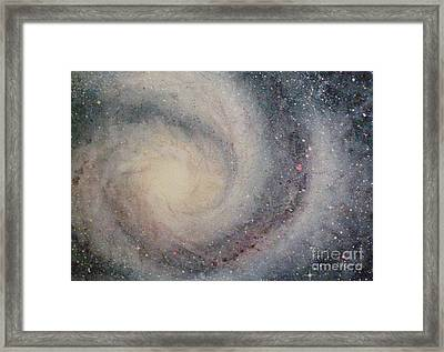 The Heavens Declare Your Glory Framed Print