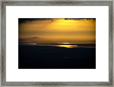 The Heavens Framed Print by Kristopher Schoenleber