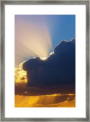 The Heavens Framed Print