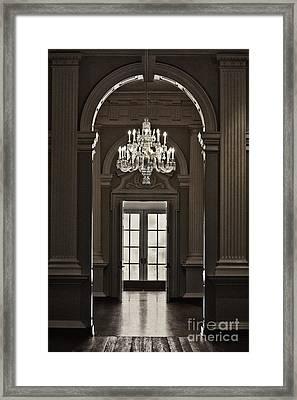 The Height Of Elegance Framed Print