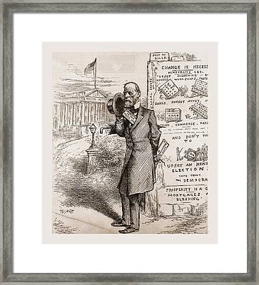 The Height Of English Ambition Framed Print
