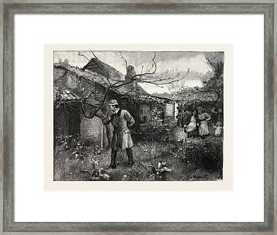 The Heir, From The Drawing By George Harcourt Framed Print
