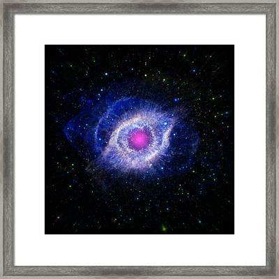 The Helix Nebula  Framed Print by Jennifer Rondinelli Reilly - Fine Art Photography