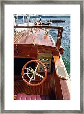 The Helm - Lake Geneva Wisconsin Framed Print