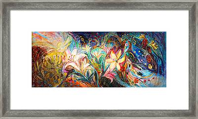 The Herald Of Dawn Framed Print