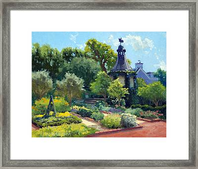 The Herb Garden Framed Print by Armand Cabrera