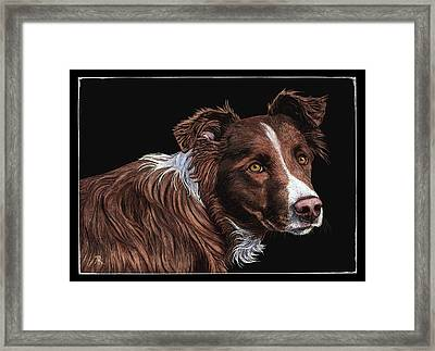 The Herder Framed Print
