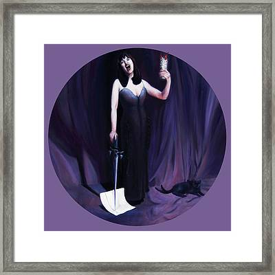 The Heretic Framed Print