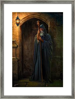 The Hermit Framed Print by Bob Nolin
