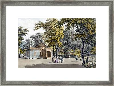 The Hermitage At The Garden Framed Print