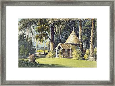The Hermitage, From Ackermanns Framed Print by John Gendall