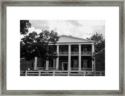 Framed Print featuring the photograph The Hermitage by Robert Hebert